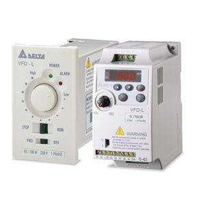Sagedusmuunduri seadistamine - Delta VFD-L seeria sagedusmuundurid