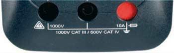 Multimeeter CAT IV